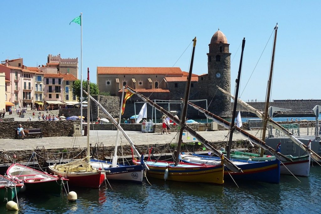 Le port de la ville de Collioure