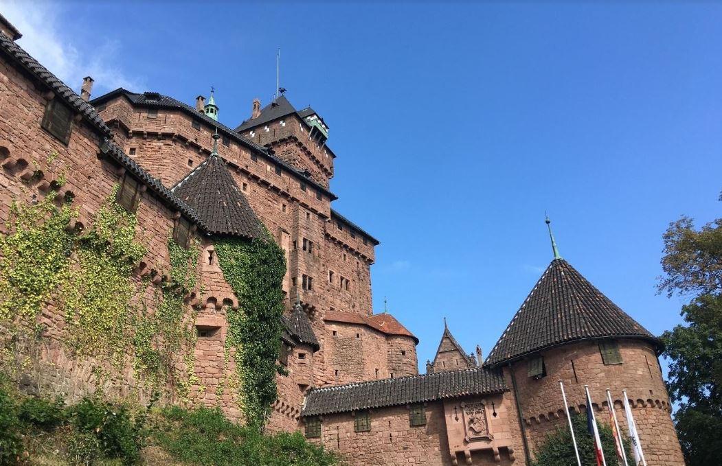 Le château du haut-koenigsbourg Image par Tristan MIMET de Pixabay